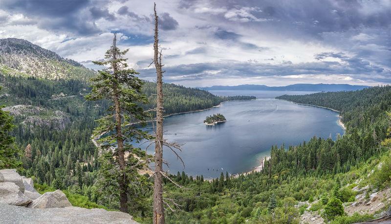 California Emerald Bay Holiday Lake Landscape Nature Road Trip Trees USA Vacation Vacations