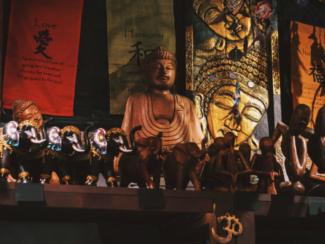 Buddha East Ezo Statue Buddhism Day Ezoteric Human Representation Indoors  Large Group Of People Men Real People Sculpture Statue