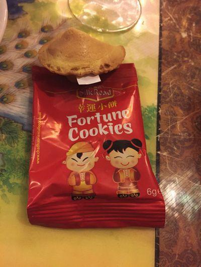 Fortune Cookie Fortune Cookie (: Glückskeks Keks Cookie Cookies🍪 Fortune Glück Iphonegraphy Hobbyphotography Hobbyfotograf Sweets