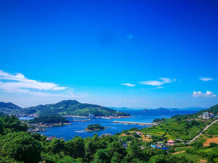 Korea Island Island City Water Tree Nautical Vessel Sea Mountain Beach Blue Beauty Sky Cloud - Sky