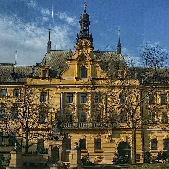 Прага архитектура центр