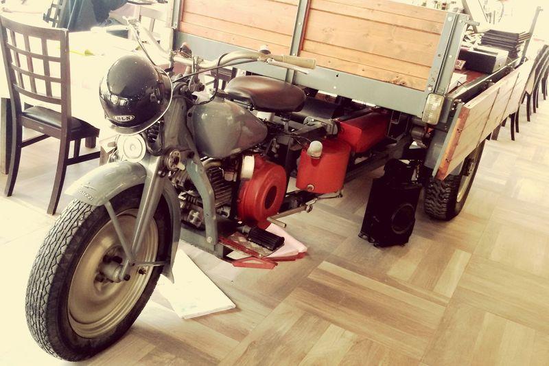 Guzzi Motocarro Cariolasbusa Sanfelice Italianrestaurant Motorcycle