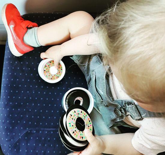 Toddlerlife Life Travel Memory Playing Bytrain Train Hamburg