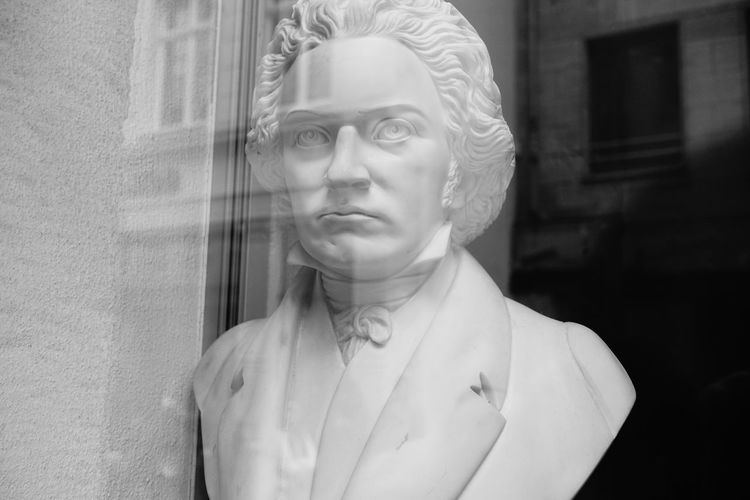 Ludwig van Beethoven Beethoven Music Festival Beethoven Memorial Beethoven Skulpture Portrait Beauty Human Face Headshot Front View Close-up