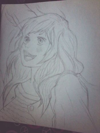 Old sketch Yoshioka futaba Ao Haru Ride  Anime Anime Art Drawing