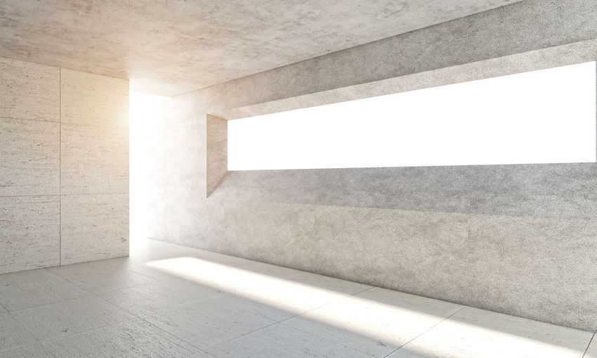 3D 3D Art 3d Rendering Empty Places Light Textures and Surfaces Architecture Building Built Structure Concept Conceptual Concrete Concrete Wall Indoor Indoors  Interior Design Light And Shadow No People