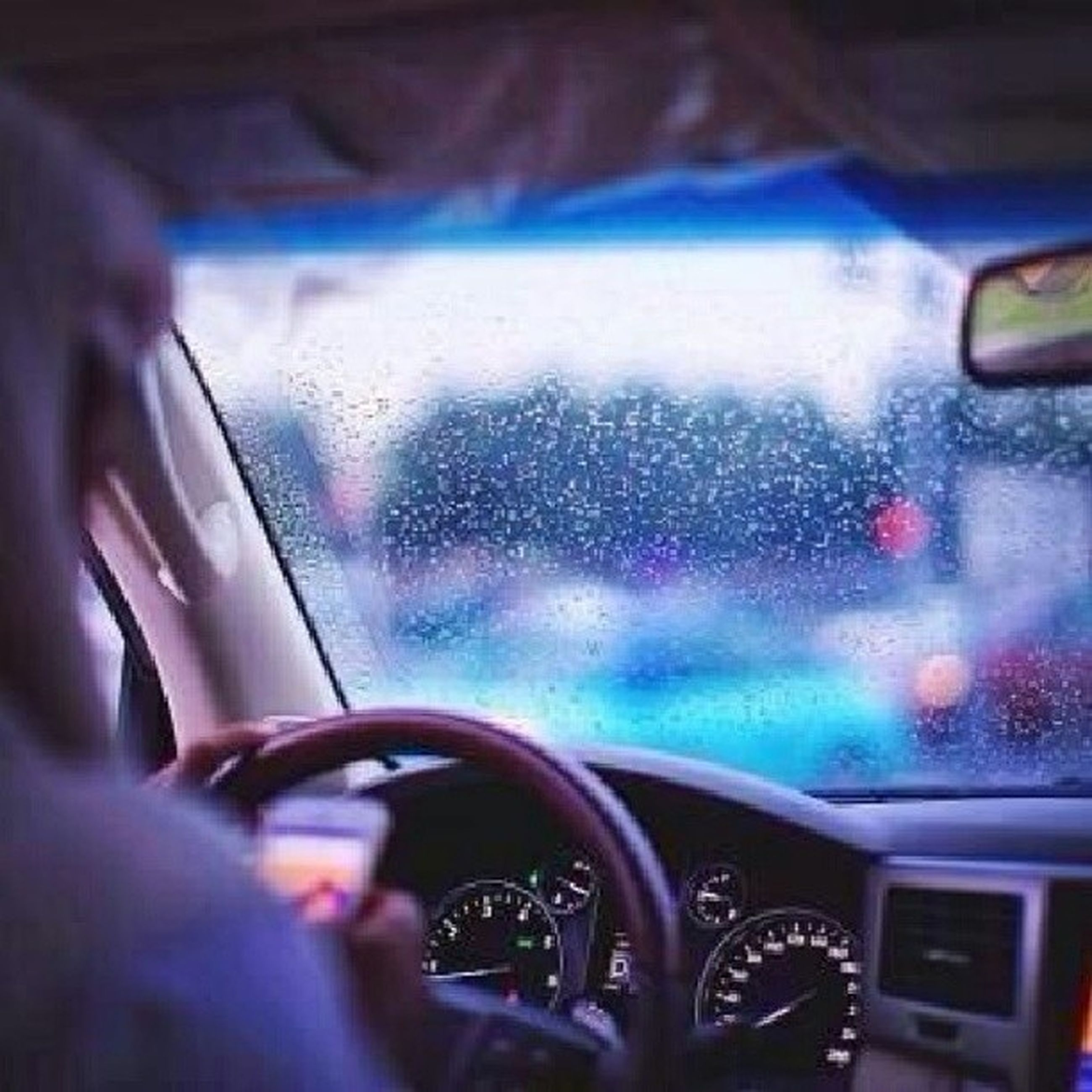 transportation, vehicle interior, mode of transport, land vehicle, car, glass - material, transparent, car interior, window, windshield, part of, travel, indoors, close-up, cropped, one person, drop, journey, side-view mirror, wet