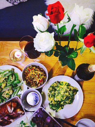 Mealtime Enjoy A Meal Supper Taking Photos Enjoying Life Enjoying A Meal Shanghai IPhoneography Roses Popular Photos