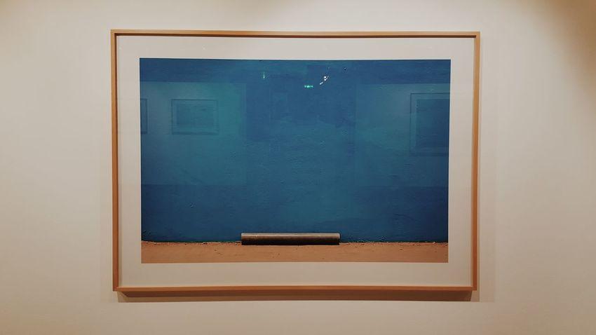 No People Indoors  Day Art Notnormal Modern Art Blue Photo Kunstmuseum Kunsthaus