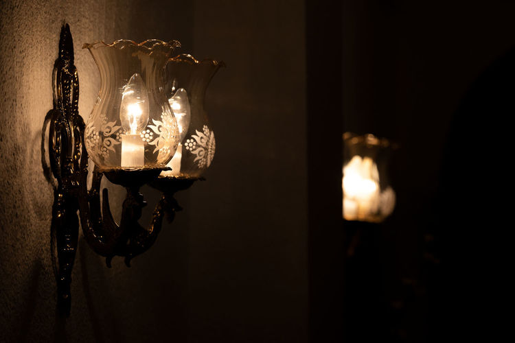 Wall lamps in