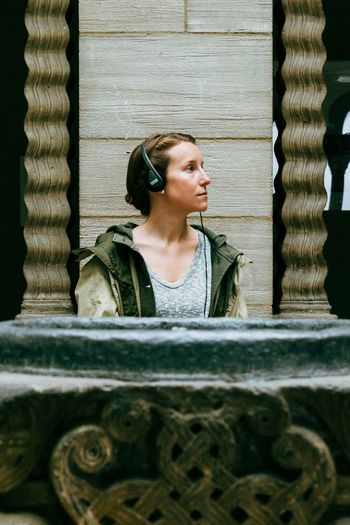 The Cloisters Museum, NYC| 2014 The Portraitist - 2015 EyeEm Awards Street Photography Street Street Portrait Streetportrait Streetphoto The Cloisters Cloisters Museum Bautistany New York City