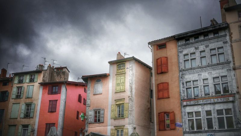 HDR Hdr_Collection Streetphotography Colors Colorful Architecture Clouds And Sky Leica D-lux Typ109 Windows
