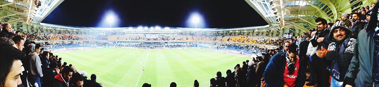 Fatih Terim Stadı Football Stadium Whatching Footballmatch Football Fans