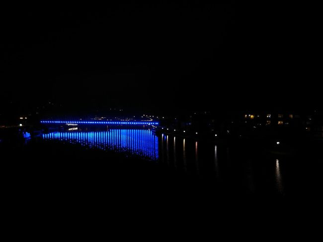 Night Nightlife Illuminated Bridge Outdoors Namur Belgium EyeEm Night Shots