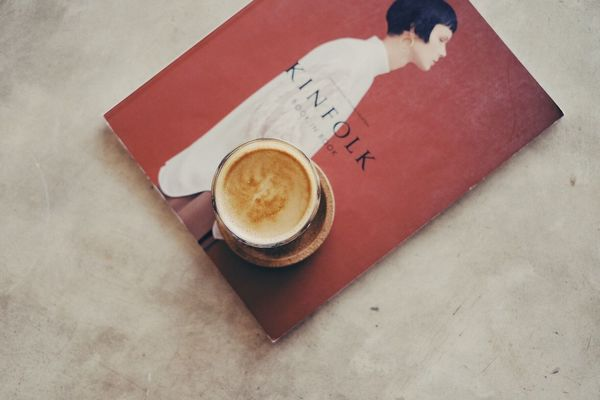 Table Coffee Cup Coffee - Drink Drink High Angle View Food And Drink Communication Refreshment Indoors  Book Text Saucer Kinfolk Kinfolk Magazine Baristalife No People Cappuccino Diary Froth Art Close-up Freshness Pinteresting Tumblr Tumblr Girl Tumblrgirl EyeEmNewHere