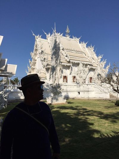 That's Me MYSELFIE with White Temple in Thailand Travel Travel Photography Enjoying Life Enjoying The View Enjoying The Sun Watrongkhun