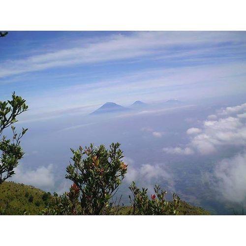 Pemandangan Pendaki dari Gunung Merapi Jogja . Instapendaki . Pocketcamera Spectracamera . 2007