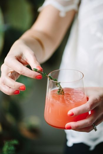 Holding Real People Food And Drink One Person Food Stories Drink Women Focus On Foreground Refreshment Nail Polish Day Lifestyles Freshness Food Stories