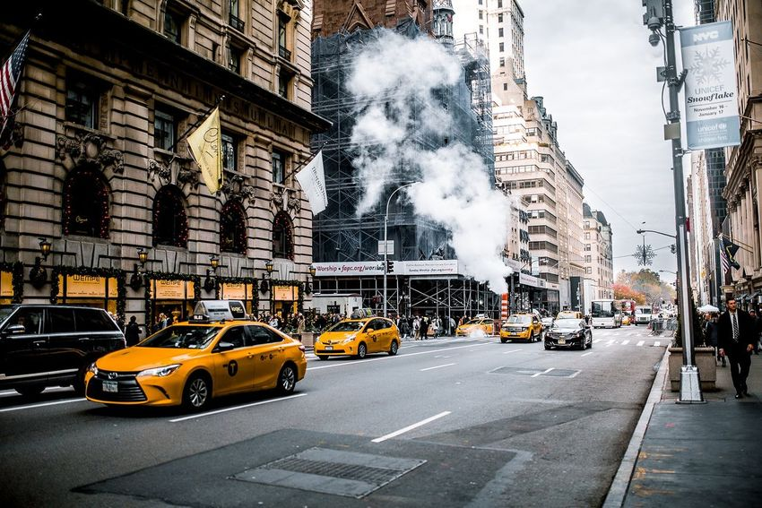 New York 11/2016 City Street Building Exterior Yellow Taxi Transportation City Street No People Architecture Outdoors Road New York New York City Manhattan Yellowcab EyeEm Best Shots - People + Portrait The Week Of Eyeem EyeEm Best Shots Photooftheday EyeEm Best Edits Streetphotography Street Photography USA America New York ❤ Travel