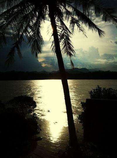 beautiful sky ~ around loungphabang , laos ❤☺