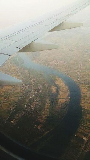 Egypt Aerial View Landscape Nature Outdoors Social Issues Day Agriculture No People Rural Scene Beauty In Nature Scenics Water Sky