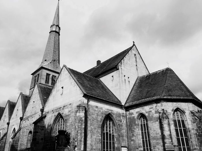 Hameln Germany Deutschland Church Stone Architecture Old Buildings Old