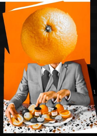 Juicy Split Personality Mr Arancione Free Yourself From Yourself Photographic Approximation Facial Experiments The Age Of Aquarius My Planet Is Alive