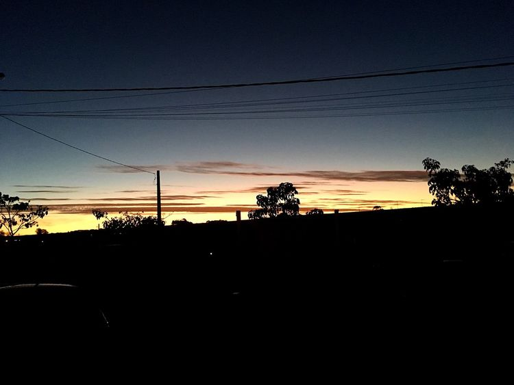 Sunset Power Supply Electricity  Sky Transportation Nature No Filter No Filter, No Edit, Just Photography Power Line
