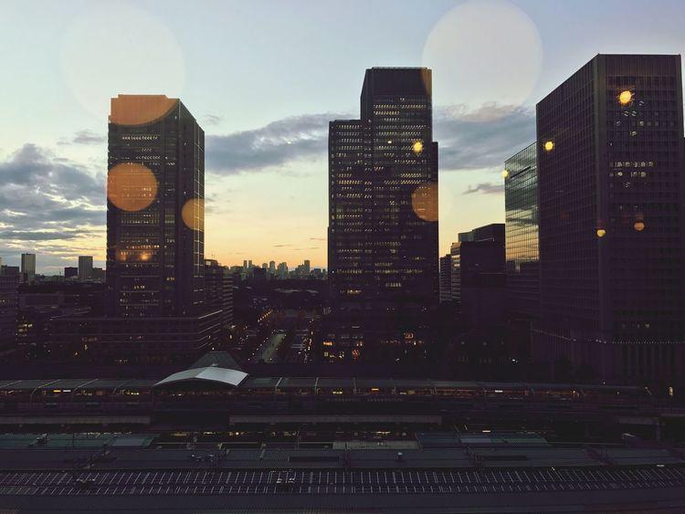tokyo,japan City Sky Sunset @tokyostation Tokyo