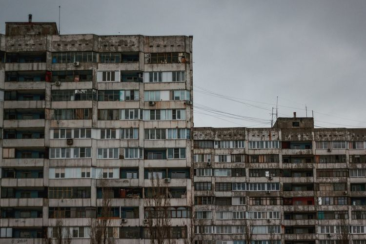 Canon MPhoto Voronezh City Apartment Community Photograph Residential Building Business Finance And Industry Abstract Façade Sky Building Story Infrastructure City Location
