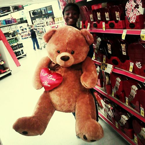 The teddy bear I'm gonna get<33333333