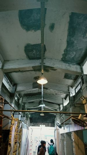 Indoors  Day Architecture Hong Kong Built Structure Abandoned Revival Market