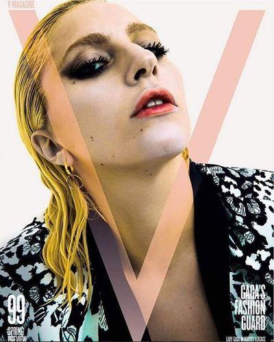 Slayyyy queen V99 Ladygaga Vmagazine