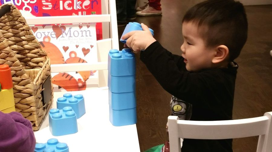 Let Kids Be Kids Learning Toy For Kids Little Boy Smiling
