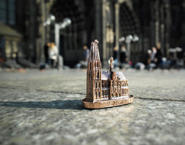 Souvenir Of Cologne Cathedral On Floor