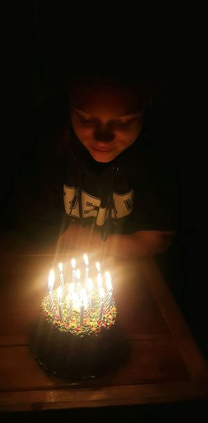 Make a wish! Happy Birthday! Candles Candle Light Birthday Cake Birthday Girl Cake♥ Teenager Blowing Candles Birthday Party Celebration Birthday Make A Wish Traditional Culture Burning Candles Light In The Darkness Getty X EyeEm