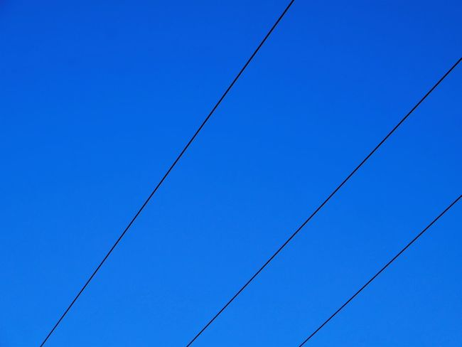 Blue Sky EyeEm EyeEm Best Edits EyeEm Best Shots EyeEm Best Shots - Nature EyeEm Nature Lover EyeEm Selects EyeEm Gallery EyeEmBestPics EyeEmNewHere Blue Cable Clear Sky Connection Day Electricity  Eyeemphotography Low Angle View Nature No People Outdoors Parallel Power Line  Power Supply Sky Telephone Line Press For Progress Colour Your Horizn