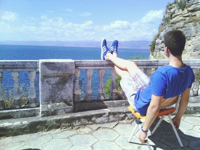 Tb Ohridlake Macedonia Enjoying The View