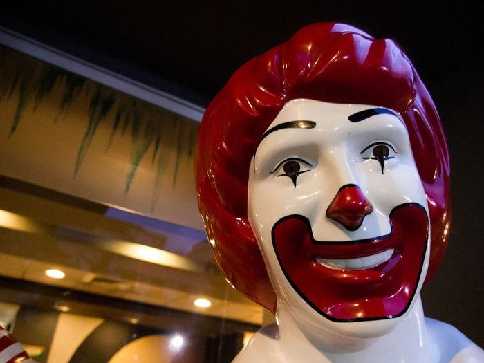 Fool Arts Culture And Entertainment Human Representation Single Object No People Close-up Anthropomorphic Face Clown BYOPaper! Taftavenue Olympus OLYMPUS PEN E-P3