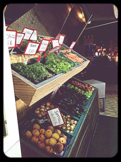 Yeşil market manav