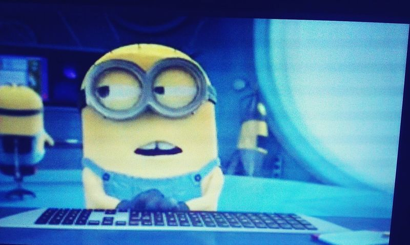 Work Minions Dispicableme2