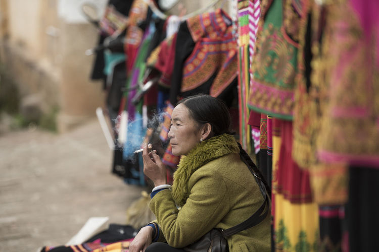 People Together Eye Em Best Shots Dalí Still Life Figure The Street Street Photography The Yi Women China People