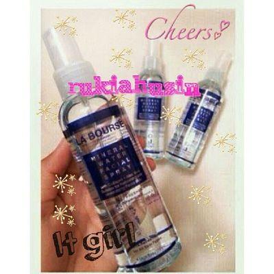 La bourse mineral water facial spray Labourse Sayajual Visitmyig Iklanig instashop bazarpaknil