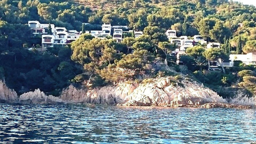Village on the sea House Water Architecture Horizontal Sea No People Outdoors Day