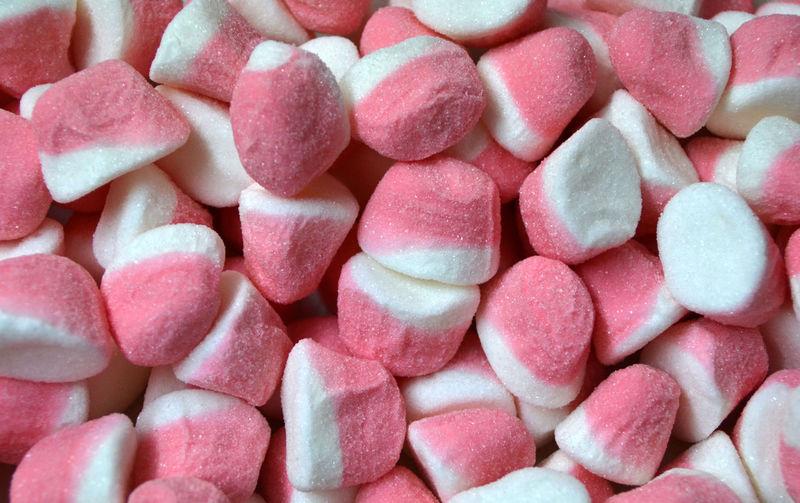 Full frame shot of candies