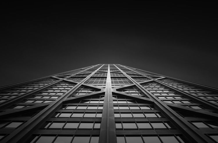 Architecture Architecture_collection Chicago Buildings Chicago Architecture Chicago Streets Minimalist Architecture Architectural Feature Architecture Black And White Bnw_captures Bnw_collection Bnwphotography Buildings Buildings Architecture Built Structure City City Buildings Day Light And Shadow Low Angle View Minimalism Modern Outdoors Sky Skyscraper Go Higher