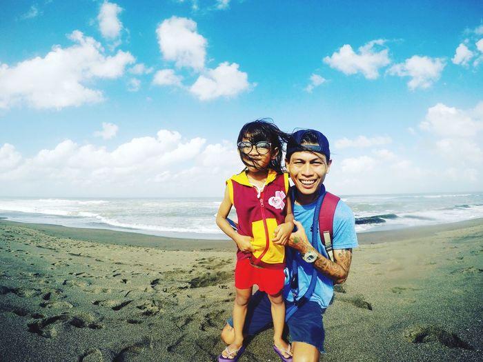 😅😅😅😅😅 Beach Childhood Looking At Camera Hello World Enjoying Life Bali Life Balinese Bali Island Bali Beach Bali Indonesia