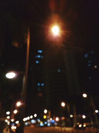 Illuminated Night No People Blurred Lights Cityscape