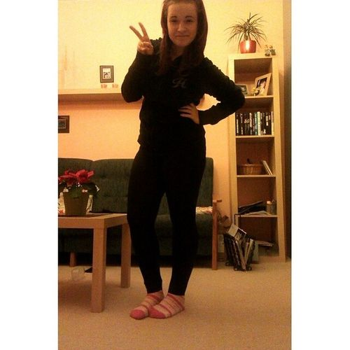 Me Myself Selfie Leginy hnus pink socks athome black peace czech czechgirl likes like follow follow_me
