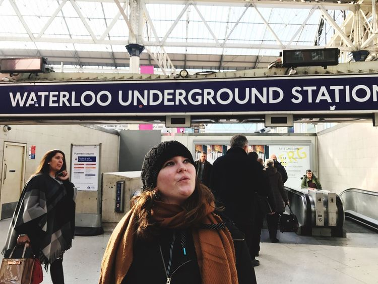 Waterloo Waterloo Station Underground London Citytrip City Station EyeEm LOST IN London